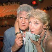 Vor allem der Brand in Daniels Bar hat Spuren hinterlassen. Hier im Bild die beiden Soap-Oldies Lisa Riecken und Frank-Thomas Mende.