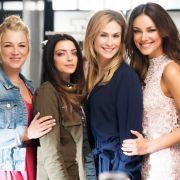 Frauenpower zum Jubiläum: Iris Mareike Steen, Anne Menden, Lea Marlen Woitack und Janina Uhse posieren für das GZSZ-Jubiläum.