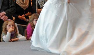 Auch Kinder wollen auf einer Hochzeit unterhalten werden. (Foto)
