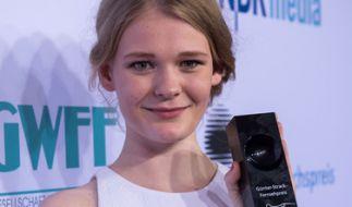 """Nachwuchsschauspielerin Gro Swantje Kohlhof wurde 2016 für ihre Rolle in """"Tatort: Rebecca"""" mit dem Günter-Strack-Fernsehpreis ausgezeichnet. (Foto)"""