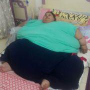 Die 36-jährige Eman Ahmed wurde zur Behandlung in das Saifee Krankenhaus in Mumbai gebracht.
