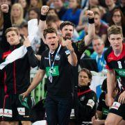 Handballer vorzeitig für EM qualifiziert: Wieder Sieg gegen Slowenien (Foto)