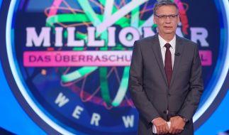 """Die aktuelle Ausgabe von """"Wer wird Millionär"""" bietet reichlich Überraschungen für die Kandidaten. (Foto)"""