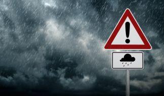 In Bayern droht Dauerregen mit Hochwassergefahr. (Foto)