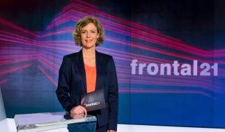 """Bereits seit 2014 moderiet Ilka Brecht das Politikmagazin """"Frontal 21"""". (Foto)"""