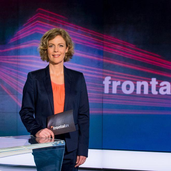 """SIE ist das Gesicht des ZDF-Magazins """"Frontal 21"""" (Foto)"""