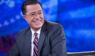 Stephen Colbert schießt scharf gegen Donald Trump. (Foto)
