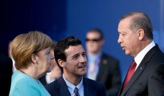 Das Verhältnis zwischen Angela Merkel (li.) und Recep Tayyip Erdoğan wird immer frostiger. (Foto)