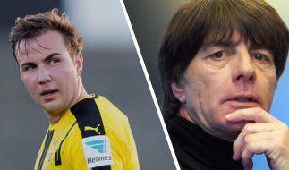 Könnte Joachim Löw bald in die Rolle von Mario Götze schlüpfen? (Foto)