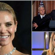 "GZSZ-Star nackt im ""Playboy"" -Heidi Klum hüllenlos - Donald Trump feuert FBI-Chef (Foto)"