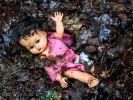 In Sachsen wurde eine totes Baby gefunden. (Foto)