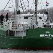 Deutsche Seenotretter verteidigen sich in Italien gegen Vorwürfe (Foto)