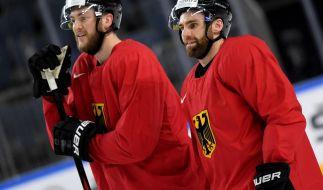 Schafft das deutsche Eishockey-Team den Sprung ins Viertelfinale? (Foto)