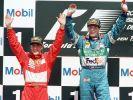 Michael Schumacher und Gerhard Berger verbindet eine lange Freundschaft. (Foto)