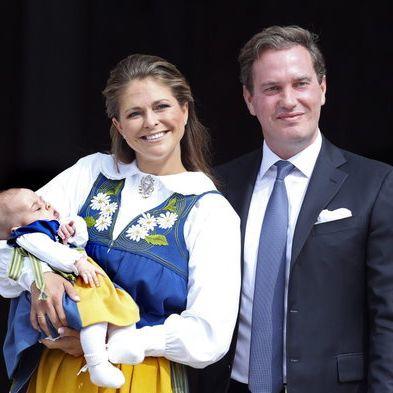 Prinzessin Madeleine von Schweden mit ihrem Mann Christoph O'Neill und ihrer gemeinsamen Tochter Prinzessin Leonore.