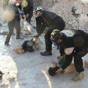 CNN zeigt neue Videoaufnahmen des Giftgas-Massakers (Foto)