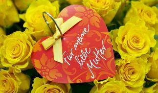 Viele Frauen wünschen sich zum Muttertag eher mehr Anerkennung als schöne Blumen. (Foto)