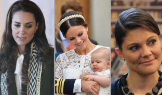 Herzogin Kate, Prinzessin Sofia von Schweden und Kronprinzessin Victoria von Schweden hatten in der vergangenen Woche mit dem Thema Nachwuchs zu tun. (Foto)