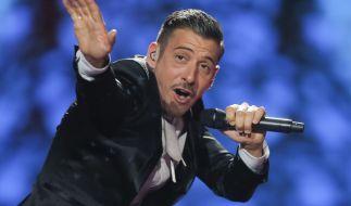 Francesco Gabbani singt für Italien beim ESC. (Foto)