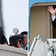 Nordkorea deutet Gesprächsbereitschaft mit USA an (Foto)