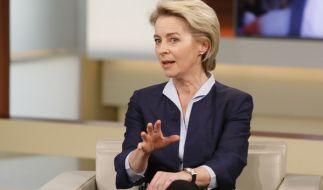 Ursula von der Leyen wird von der AfD heftig kritisiert. (Foto)