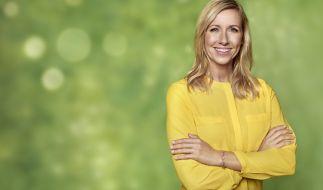 Andrea Kiewel präsentiert wie jede Woche den ZDF Fernsehgarten. (Foto)