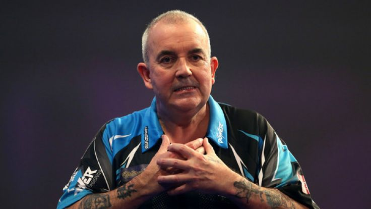 "Phil Taylor trägt den Titel ""The Power"". (Foto)"