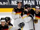 Die deutsche Eishockey-Nationalmannschaft hat im Viertelfinale gegen Kanada verloren. (Foto)