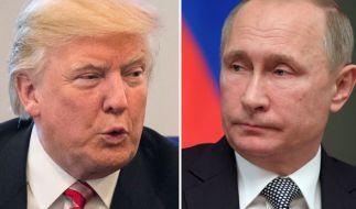 Wurde Trump (r.) von Putin bezahlt? (Foto)