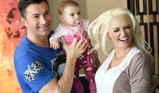 Töchterchen Sophia wird ihrer Mutter Daniela Katzenberger immer ähnlicher. (Foto)