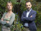 "Romanautorin Lissi (Esther Schweins) und Bauleiter Kenan (Adnan Maral) leben ""Zaun an Zaun"". (Foto)"