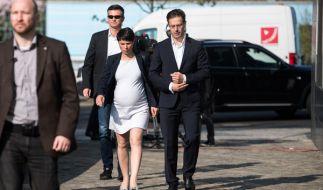 Frauke Petry hat einen Sohn zur Welt gebracht. (Foto)