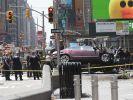 Ein Ex-Soldat raste auf dem Times Square in eine Menschenmenge. (Foto)