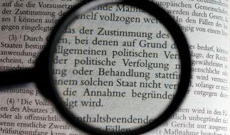 Die Bundesregierung hat ein verschärftes Asylrecht beschlossen. (Foto)