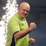 Michael van Gerwen verteidigt Titel gegen Peter Wright (Foto)