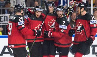 Kanada warf im Viertelfinale Deutschland aus dem Rennen. Können Sie im Halbfinale auch Russland besiegen? (Foto)