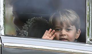 Prinz George sorgte bei der Hochzeit von Pippa Middleton für Aufsehen. (Foto)