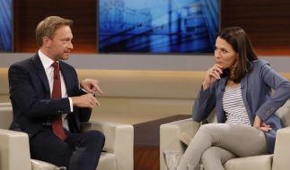 Christian Lindner (FDP) sprach bei Anne Will über Steuererleichterungen. (Foto)