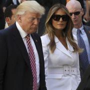 Keine Spur von Liebe! Melania verweigert Trump Händchenhalten (Foto)