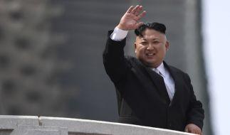 Trotz internationaler Sanktionen: Kim Jon-un testet weiter Raketen. (Foto)