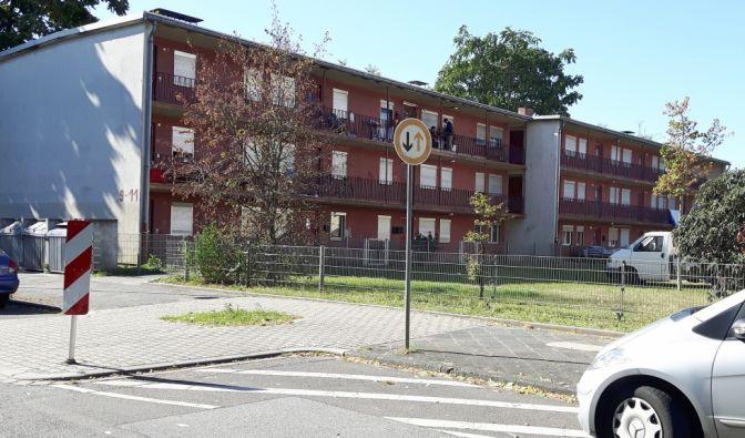 Benz Baracken in Mannheim-Waldhof