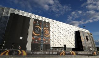 Die Friends Arena in Stockholm. Hier findet das Europacup-Finale zwischen Manchester United und Ajax Amsterdam statt. Die UEFA arbeitet eng mit den Behörden zusammen und hat das Risiko einer Terror-Attacke berücksichtigt. (Foto)