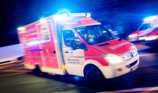 Ein Rettungswagen wurde von einem aggressiven Rentner schwer beschädigt. (Symbolbild) (Foto)