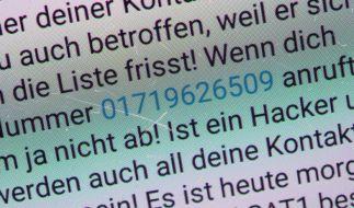 """Der Kettenbrief machte schon im Januar mit den Namen """"Ute Christoff"""" und """"Ute Lehr"""" die Runde. (Foto)"""