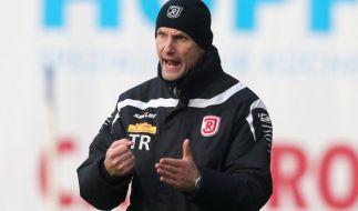 """Der Regensburger Trainer Heiko Herrlich wollte gegen 1860 München ein """"Wunder schaffen"""". (Foto)"""