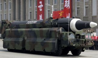Nordkorea feuert erneut eine Rakete ab - diesmal in Richtung Japan. (Foto)