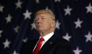 Donald Trump auf dem G7-Gipfel: Jeder Annäherungsversuch wird abgewehrt. (Foto)