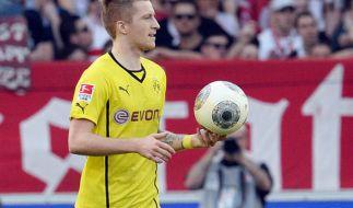 Marco Reus hat sich beim DFB-Pokalfinale einen Teilriss des Kreuzbandes zugezogen und fällt für Monate aus. (Foto)