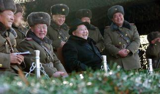 Kim Jong Un ließ einen weiteren Raketentest durchführen. (Foto)