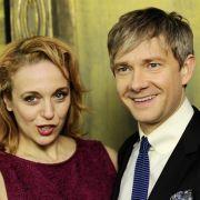 16 Jahre waren Amanda Abbington und Martin Freeman ein Paar.